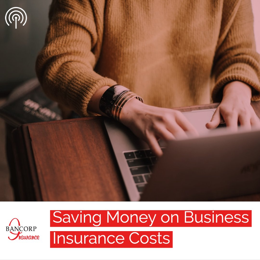 save on business insurance costs podcast graphic