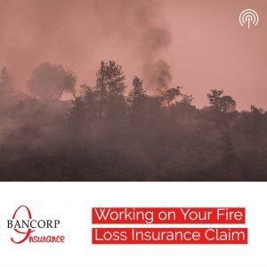 fire loss insurance claim