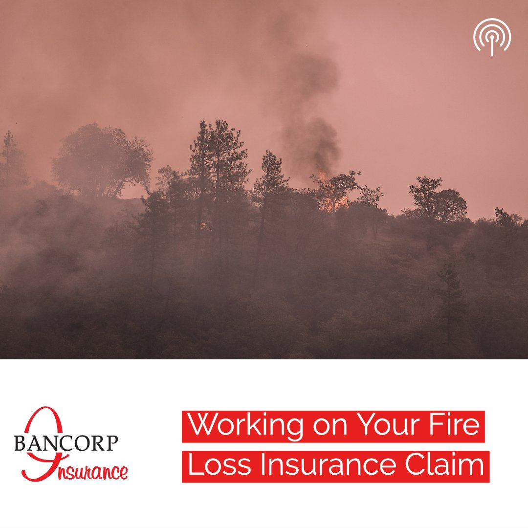 fire loss insurance claim