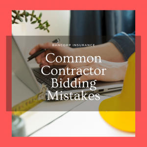 Contractor Bidding Mistakes